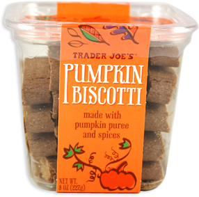 Trader Joe's Pumpkin Biscotti