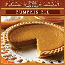 Trader Joe's Pumpkin Pie