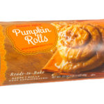 Trader Joe's Pumpkin Rolls with Pumpkin Spice Icing