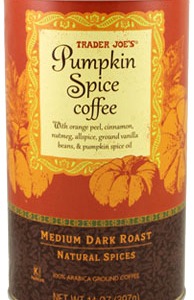 Trader Joe's Pumpkin Spice Coffee