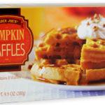 Trader Joe's Pumpkin Waffles