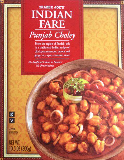 Trader Joe's Punjab Choley