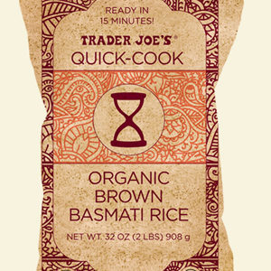 Trader Joe's Quick Cook Organic Brown Basmati Rice