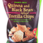Trader Joe's Quinoa & Black Bean Infused Tortilla Chips