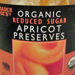 Trader Joe's Organic Reduced Sugar Apricot Preserves