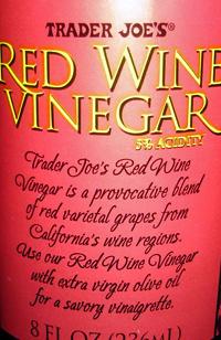 Trader Joe's Red Wine Vinegar