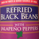 Trader Joe's Refried Black Beans With Jalapeño Peppers