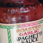 Trader Joe's Roasted Garlic Spaghetti Sauce