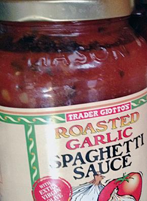 Trader Joe's Roasted Garlic Spaghetti Sauce