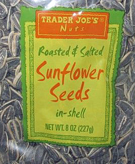 Trader Joe's Roasted Salted Sunflower Seeds In-Shell
