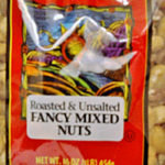 Trader Joe's Roasted & Unsalted Fancy Mixed Nuts