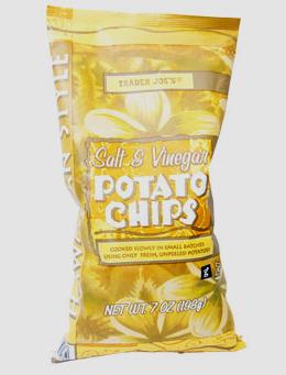 Trader Joe's Hawaiian Style Salt & Vinegar Potato Chips