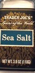 Trader Joe's Sea Salt