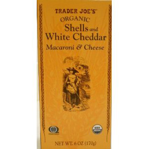 Trader Joe's Organic Shells & White Cheddar Macaroni and Cheese
