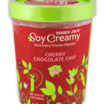 Trader Joe's Cherry Chocolate Chip Soy Ice Cream
