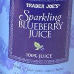 Trader Joe's Sparkling Blueberry Juice