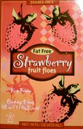 Trader Joe's Strawberry Fruit Floes