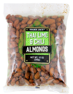 Trader Joe's Thai Lime & Chili Almonds