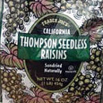 Trader Joe's Thompson Seedless Raisins
