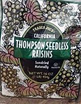 Trader Joe's Thompson Seedless Raisins