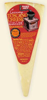 Trader Joe's Toscano Cheese with Cinnamon
