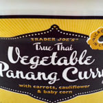 Trader Joe's True Thai Vegetable Panang Curry