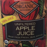 Trader Joe's Organic Unfiltered Apple Juice