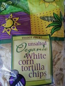 Trader Joe's Unsalted Organic White Corn Tortilla Chips