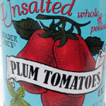Trader Joe's Unsalted Plum Tomatoes
