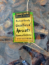 Trader Joe's Unsulfured Apricots