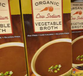 Trader Joe's Organic Low Sodium Vegetable Broth