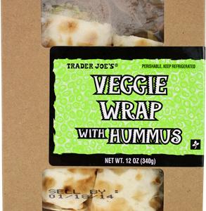 Trader Joe's Veggie Hummus Wrap