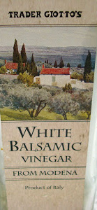 Trader Joe's White Balsamic Vinegar