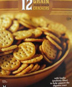 Trader Joe's 12 Grain Mini Snack Crackers