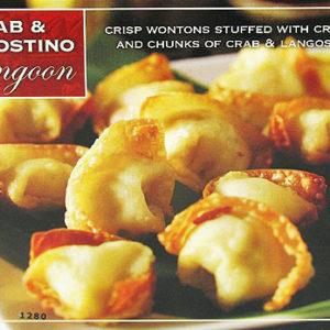 Trader Joe's Crab & Langostino Rangoon