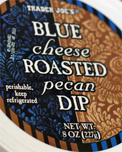Trader Joe's Blue Cheese Roasted Pecan Dip