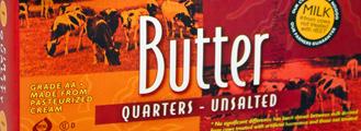 Trader Joe's Unsalted Butter Quarters