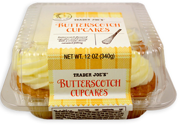 Trader Joe's Butterscotch Cupcakes