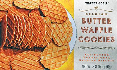 Trader Joe's Butter Waffle Cookies