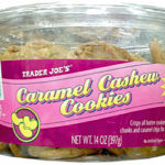 Trader Joe's Caramel Cashew Cookies