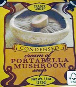 Trader Joe's Condensed Portabella Mushroom Soup