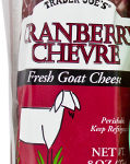 Trader Joe's Cranberry Chevre