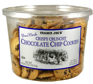 Trader Joe's Crispy Crunchy Chocolate Chip Cookies