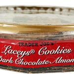 Trader Joe's Dark Chocolate Almond Lacey's Cookies