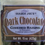 Trader Joe's Dark Chocolate Covered Raisins