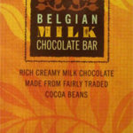 Trader Joe's Fair Trade Organic Belgian Milk Chocolate Bar