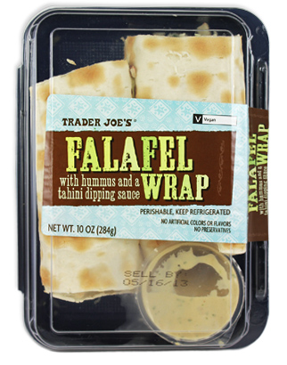 Trader Joe's Falafel Wrap