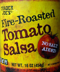 Trader Joe's Fire Roasted Tomato Salsa
