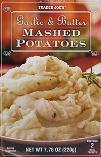 Trader Joe's Garlic & Butter Mashed Potatoes