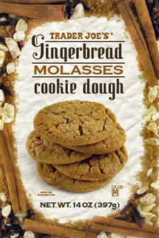 Trader Joe's Gingerbread Molasses Cookie Dough